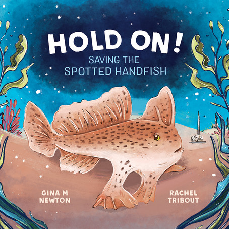CBCA Notable 2021- Hold On! Saving the Spotted Handfish