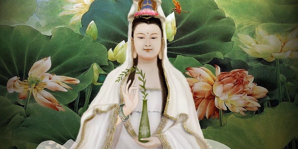 QUAN YIN & 100 WISDOM POEMS (also via zoom)