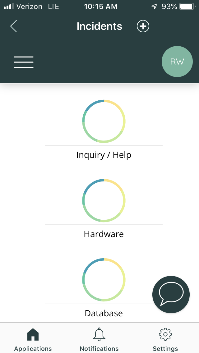 vividcharts mobile report viewing servicenow app