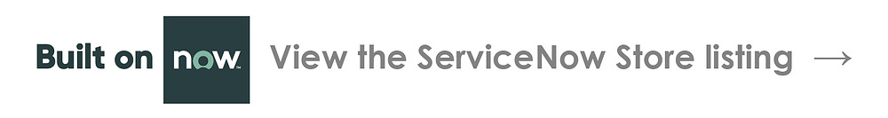 built on servicenow - view the servicenow store listing