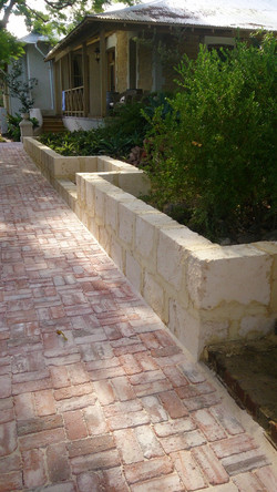 Rustic Paving and Thick Perps
