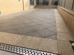 Exposed aggregiate paving
