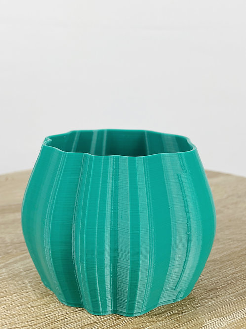 Rippled Pot - 8cm