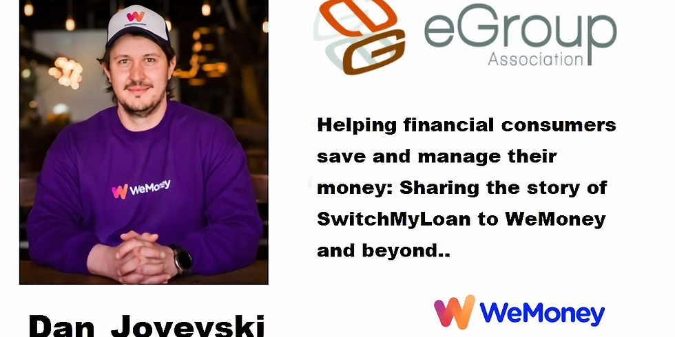 Helping financial consumers save and manage their money: Dan Jovevski shares his story