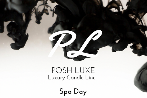 Posh Luxe Spa Day Candle