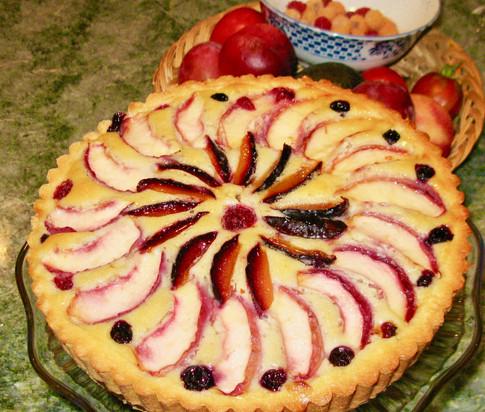 My famous fruit tart