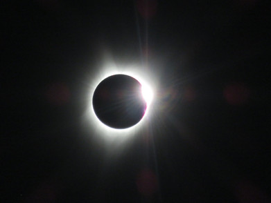 2017 Eclipse from just south of Rollrock Farm