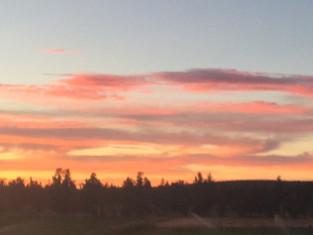 Sunset at Rollrock Farm