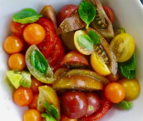 Tomatos from the garden