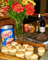 My biscuits, with recipe