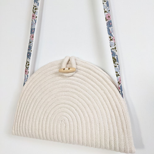 Liberty London Coiled Clutch Bag - Poppy and Daisy