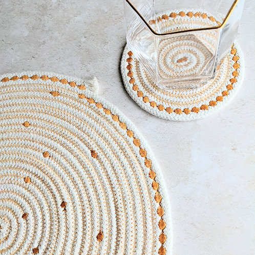Rope Coasters and Table Centrepiece