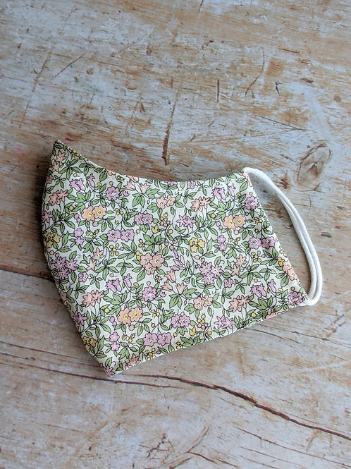 Liberty Fitted Face Covering Lilac