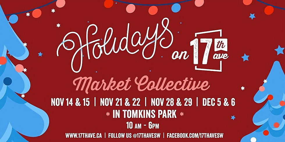 17th Ave Holiday Market, Calgary