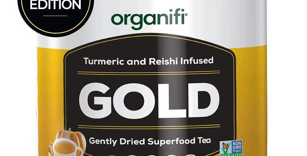 Organifi gold pumpkin spice tub