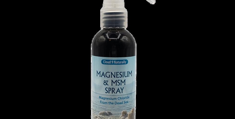Cloud 9 Magnesuim and MSM Spray