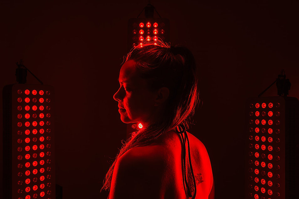 Modern Wellness, MW InfraRed red light therapy panel, wellness tech, health nutrition, self-care, integrative health