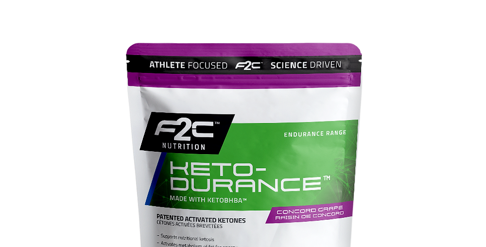F2C Keto-Durance 15 Servings bag