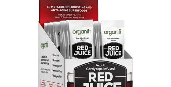 organifi red juice go packs 30 box