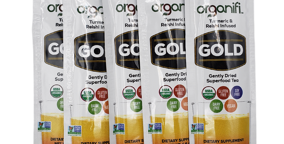 Organifi Gold Go Packs