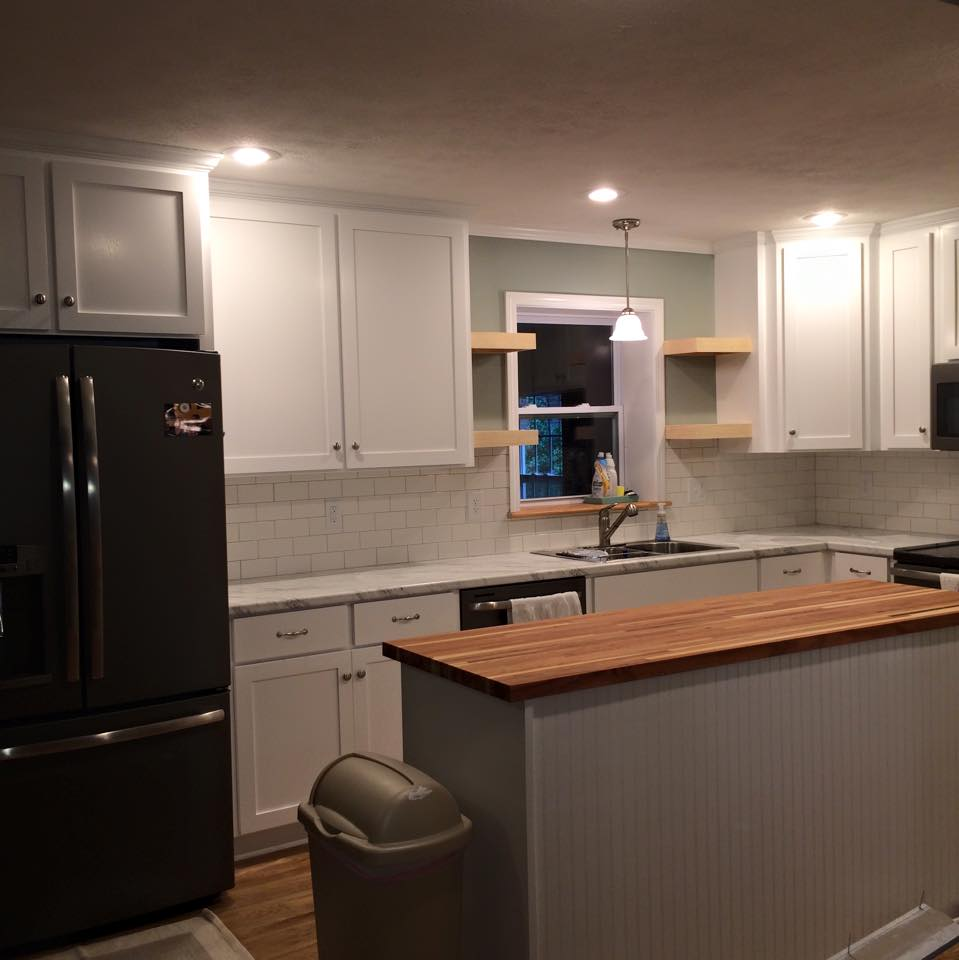 Shaker Syle Cabinets