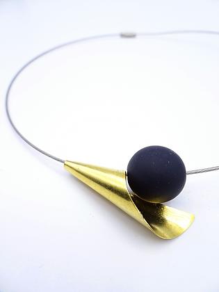 Modern Traffic Cone Necklace