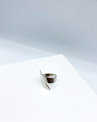 Chevron Stainless Steel Ring