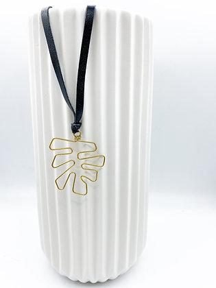 Dont Leaf Me Hanging Necklace