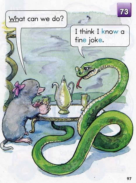 Mole and Snake