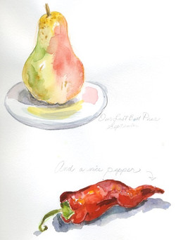 Pear and Pepper