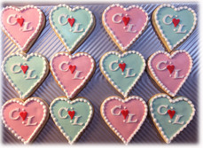 Monogrammed Hearts