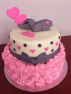 Elephant Pink Heart