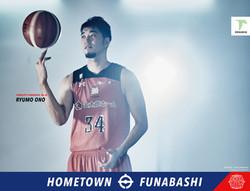 千葉ジェッツ2017-18シーズン 新京成線駅広告