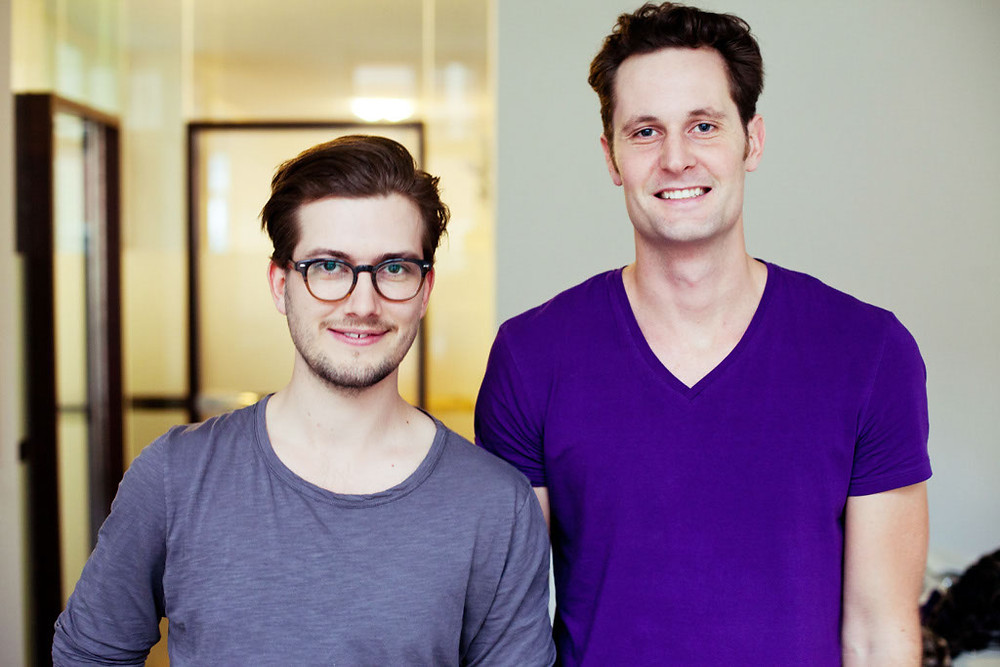 SoundCloud founders Alex Llung and Eric Wahlforss