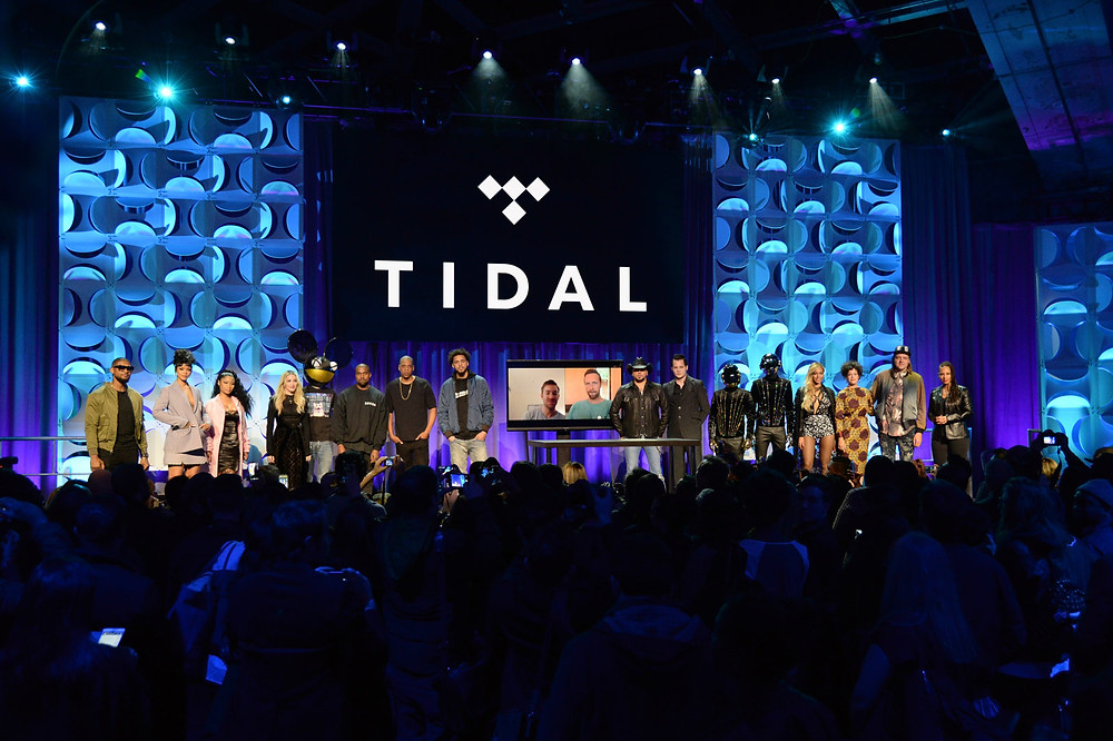 Tidal's relaunch in March 2015. Kevin Mazur/Getty Images For Roc Nation