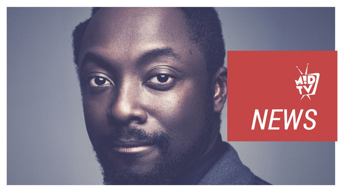 Will.i.am Amuse By The First Mobile Label! | MUSIK !D TV NEWS