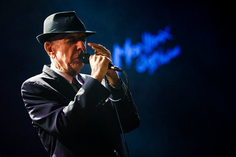 Leonard Cohen in 2013 at the Montreux Jazz Festival. Credit Valentin Flauraud/Reuters