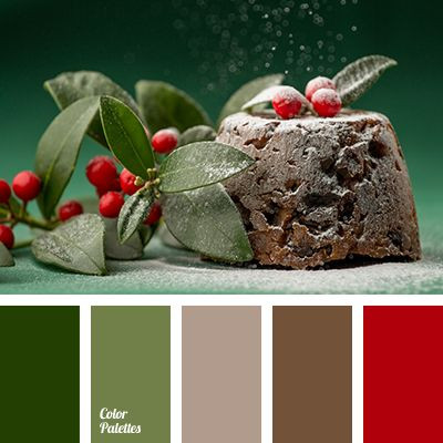 Red, Green, & Brown