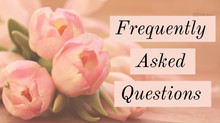 Questions Frequently Asked of Caitlin Anderson Photography