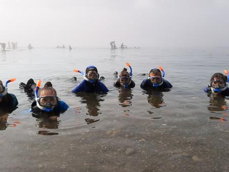 ЦДЮТ приглашает школьников Южно-Сахалинска на выездное занятие «Морское дно»