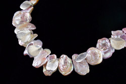 Petals and Pearls necklace