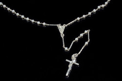 Freshwater Pearl Rosary Necklace