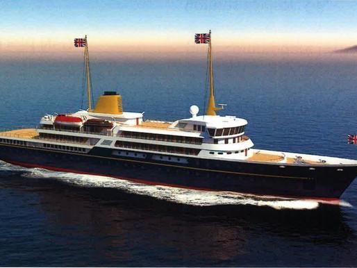 new plan for  'Royal Yacht Britannia'