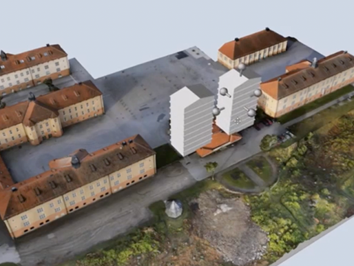 Buildings visualized & decoded in 3D