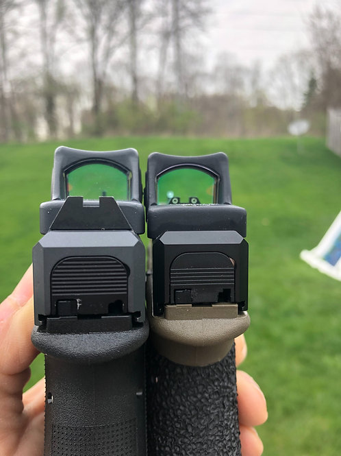Optic Cut Only - no additional slide work