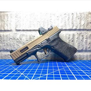 Glock 19 Alpha Stippling