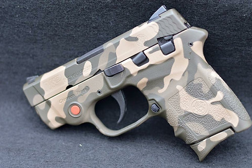 Camo Cerakote frame with three colors.
