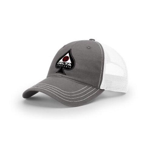 Richardson Trucker Hat - Grey - SPADE LOGO