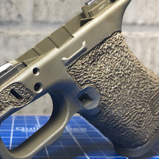 Recessed Mag Release w/ Omega Stippling