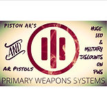 primary weapons systems pws piston